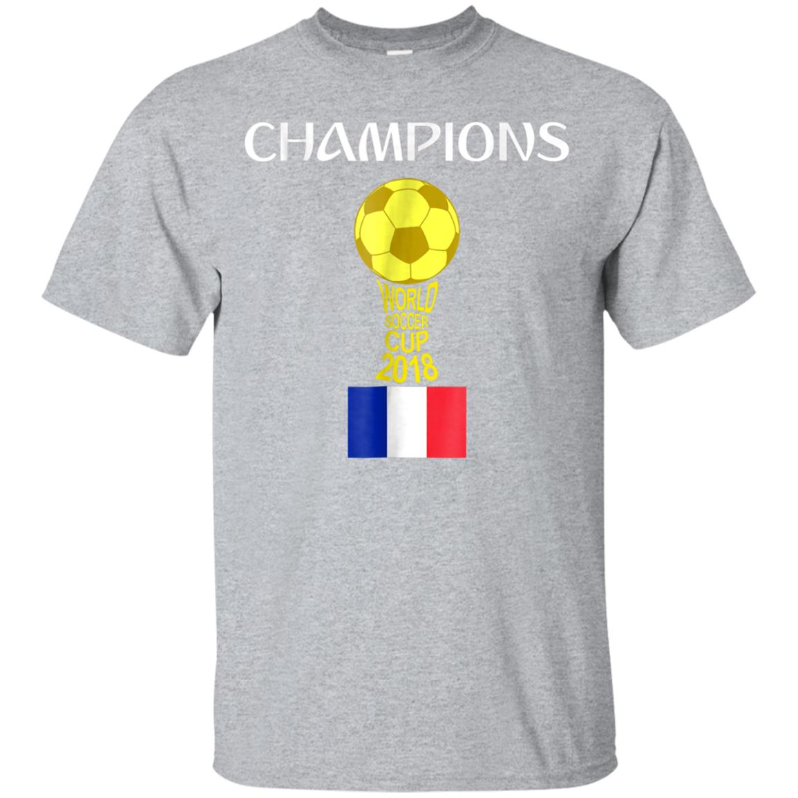 France World Champions Futball Cup 2018 T-Shirt 99promocode