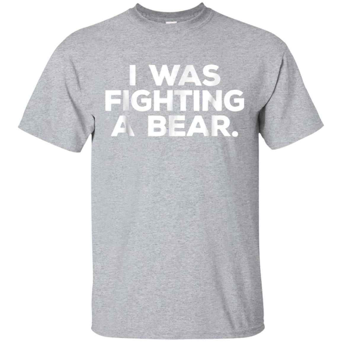 Funny Injury Shirt - I was fighting a bear - Get Well Gift 99promocode