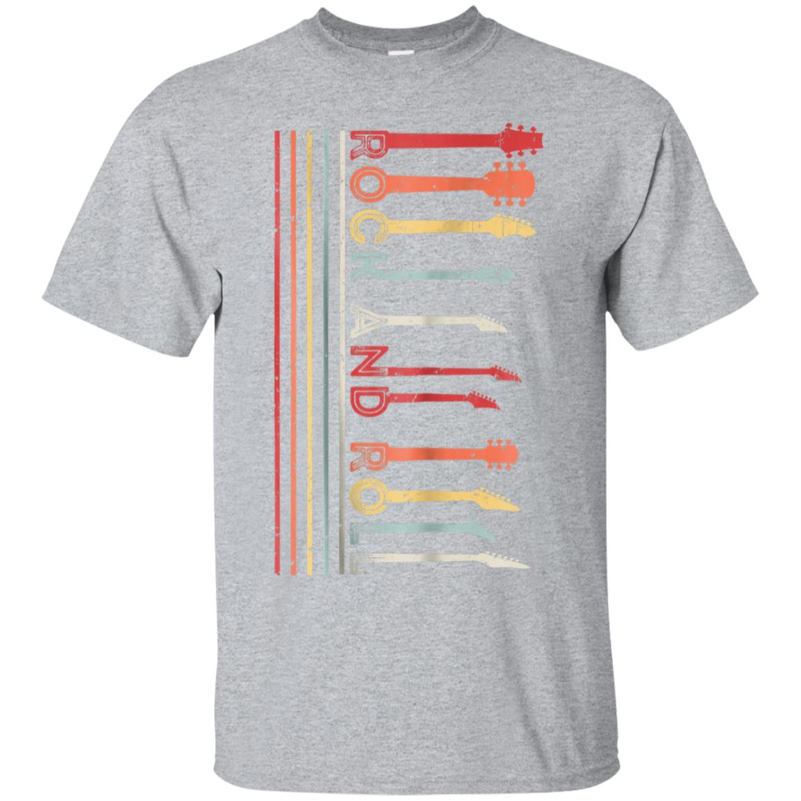 Classic Rock And Roll Vintage T-shirt, Concert Band Cool Tee 99promocode