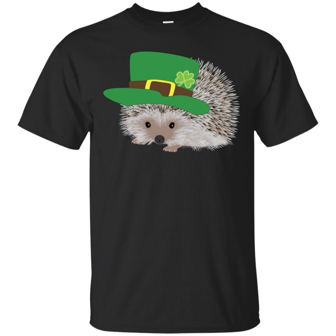 Cute and Funny Graphic Hedgehog St Patricks Day Shirt 99promocode