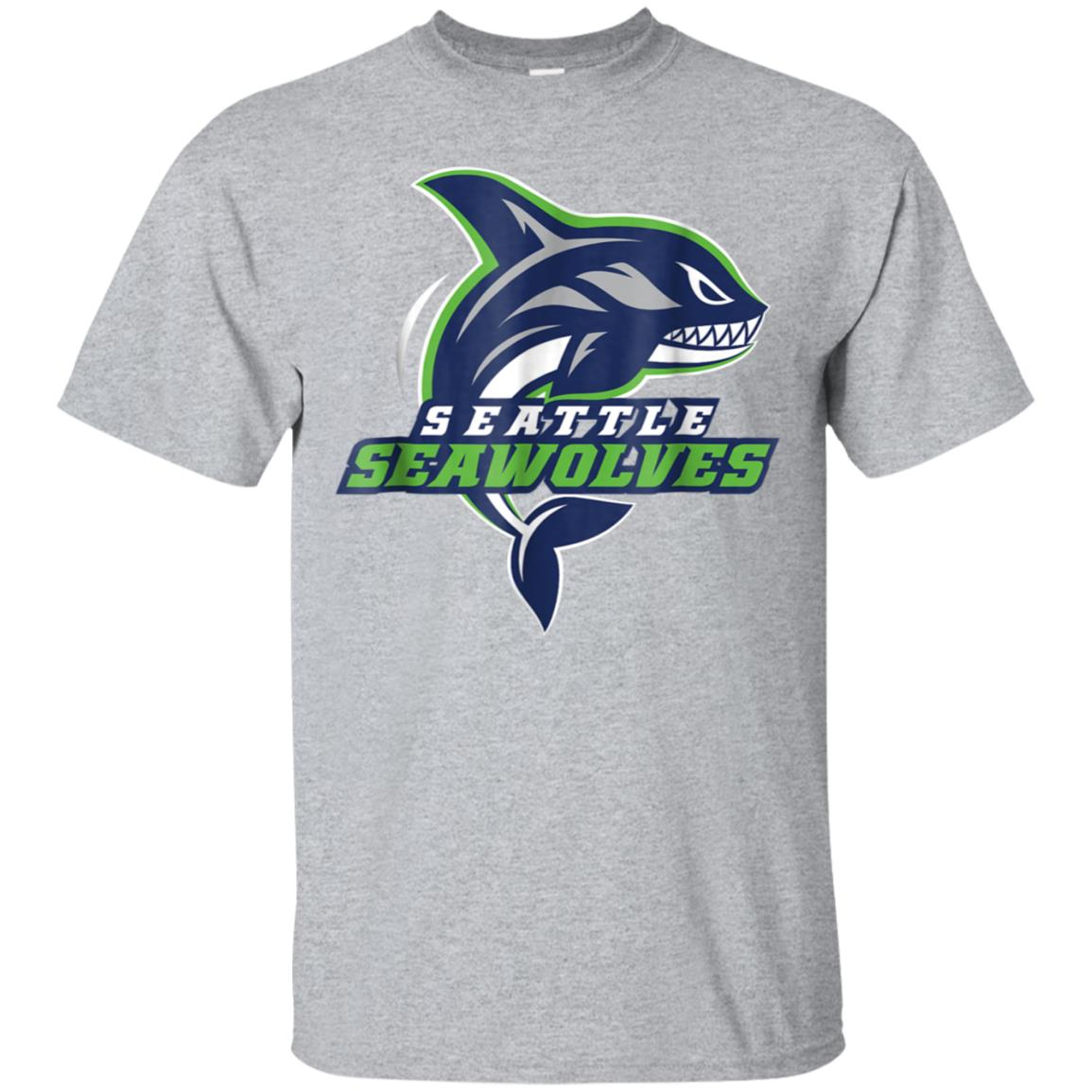 Seattle Seawolves Logo Tee 99promocode