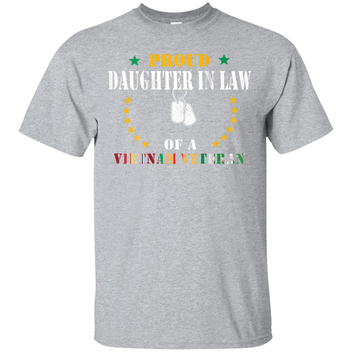 Proud Daughter In Law Vietnam Veteran Veteran's Day Gift Tee 99promocode