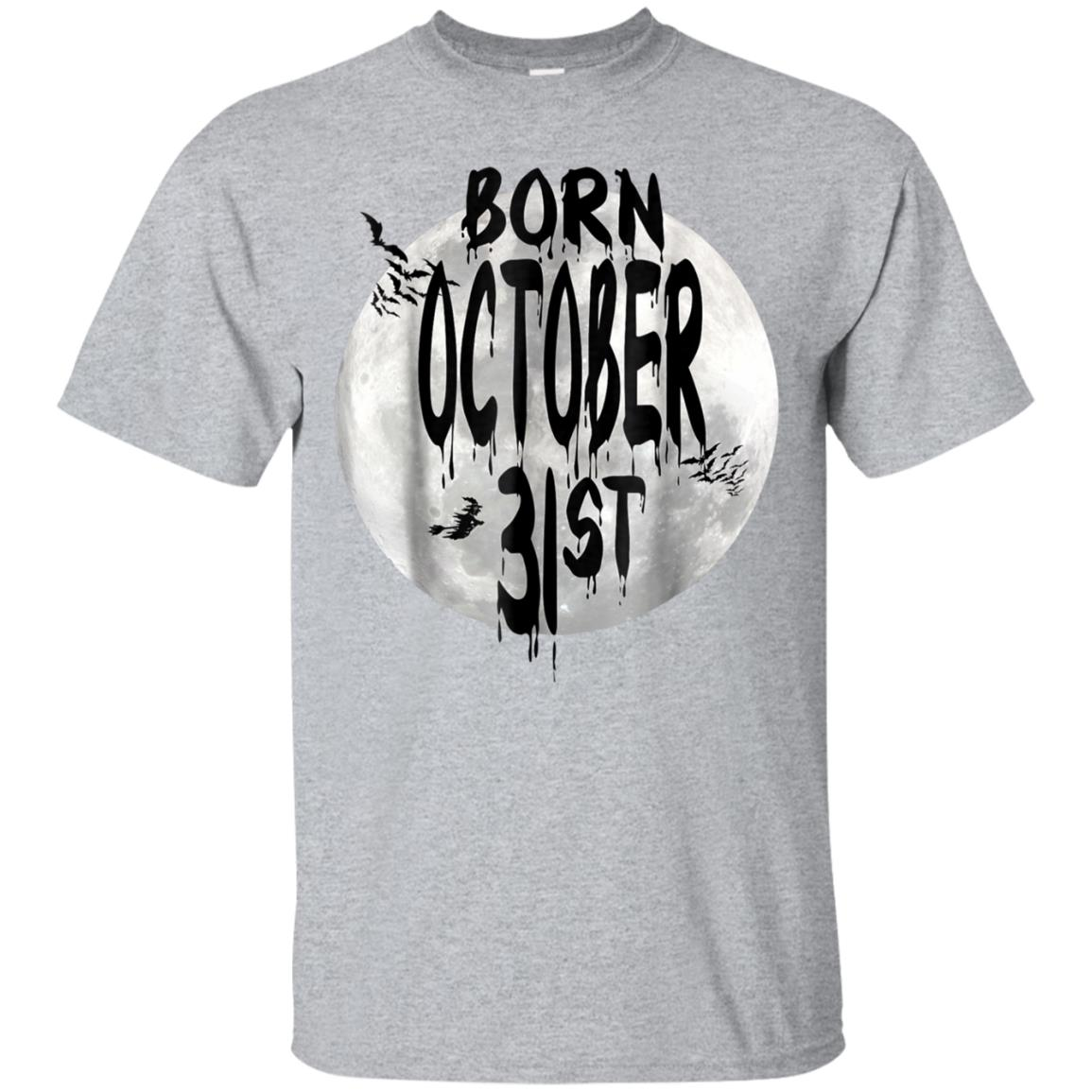 Born on October 31st Halloween T-shirt Witchs, Moon 99promocode