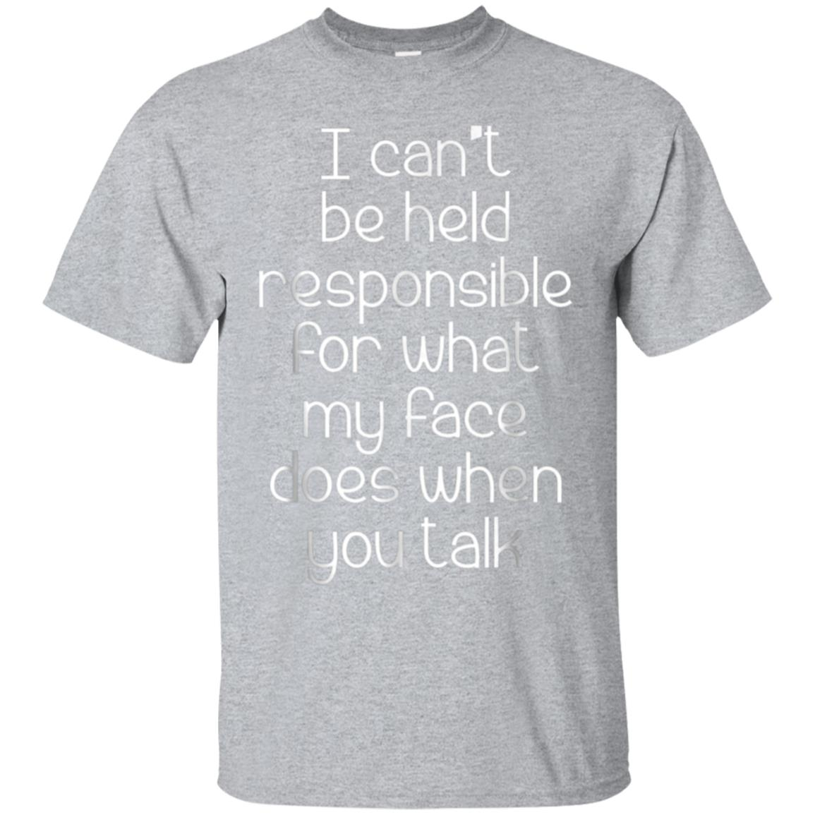 I Can't Be Held Responsible T-Shirt funny saying sarcastic 99promocode