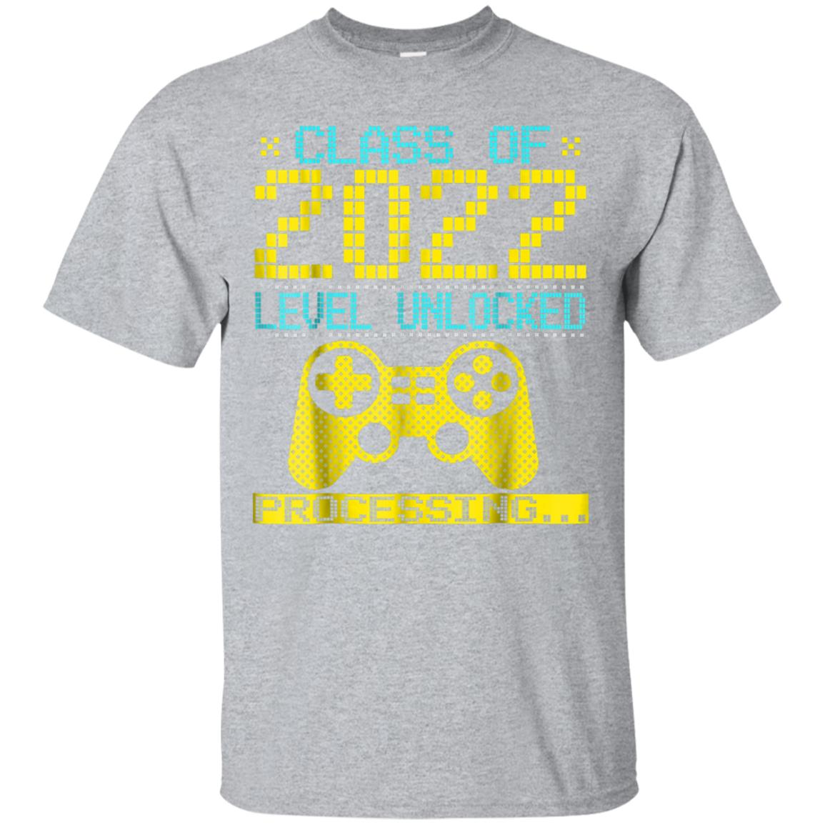 Class Of 2022 Grade Level Unlocked Process Shirt Gamer 99promocode