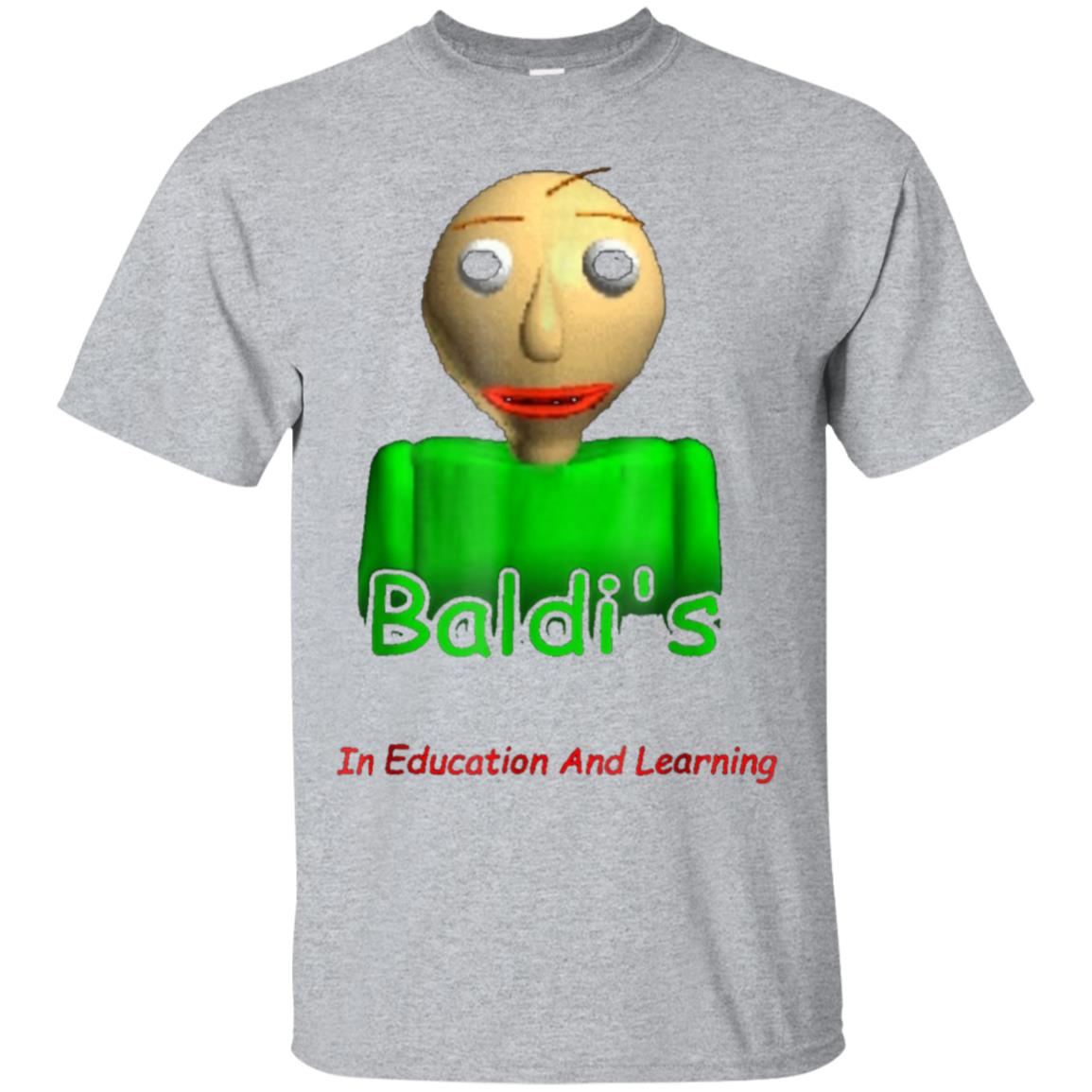 Baldi's Basics in education and learning T-Shirt 99promocode