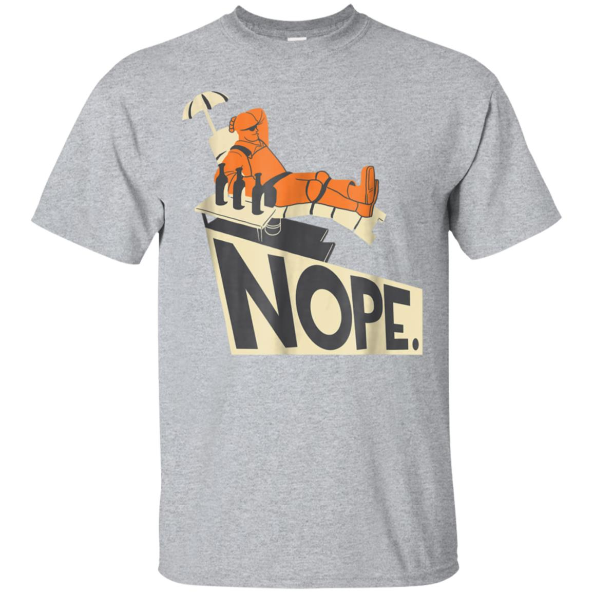Engineer Team Fortress 2 Nope avi t-shirt - TRS088 99promocode