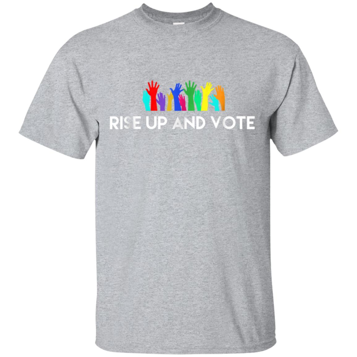 Rise Up and Vote T-shirt 99promocode