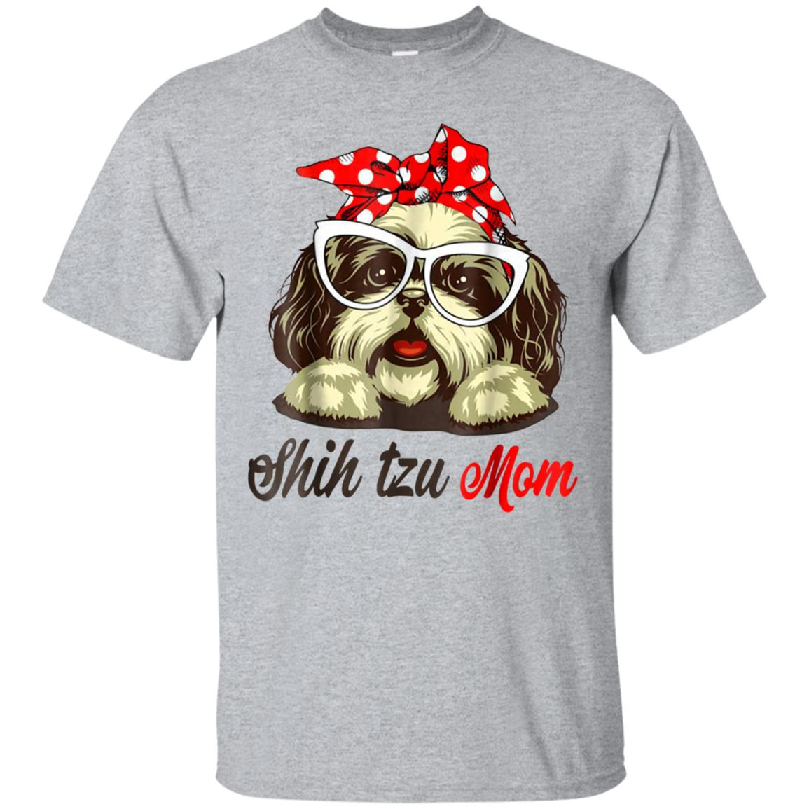Hanging With Shih Tzu Mom Shirt 99promocode