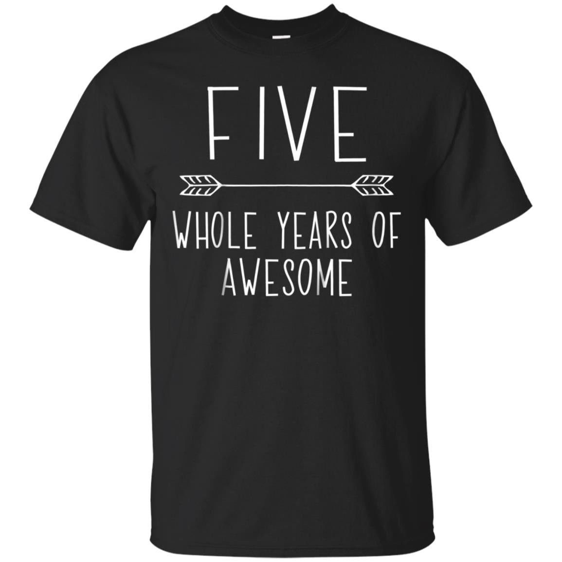 Kids Fifth Birthday Boy Shirt 5 Year Old Outfit