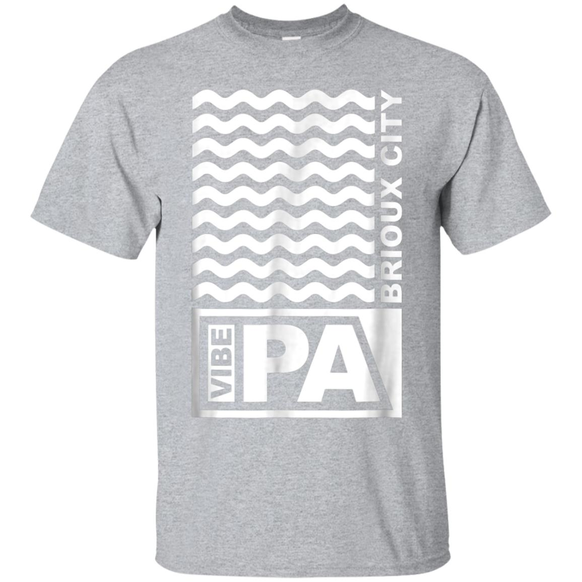 Vibe Rations IPA Brioux City T Shirt Sioux City Iowa 99promocode