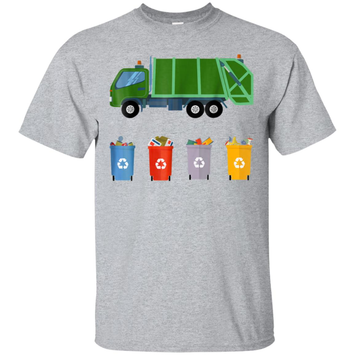 Recycling Trash Truck Shirt Kids Garbage Truck T Shirt 99promocode