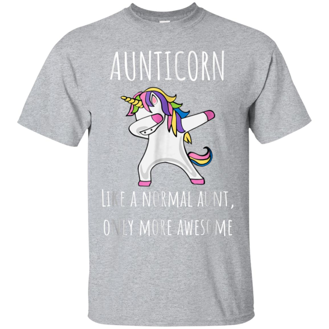 Aunticorn Like An Aunt Only Awesome Dabbing Unicorn T-Shirt 99promocode