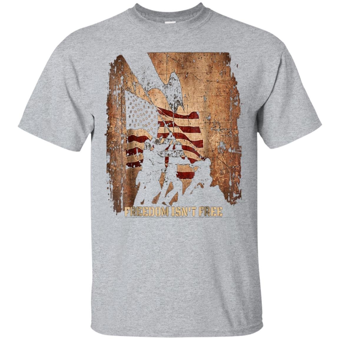 USA Flag Veterans Day Freedom Isn't Free Tshirt 99promocode