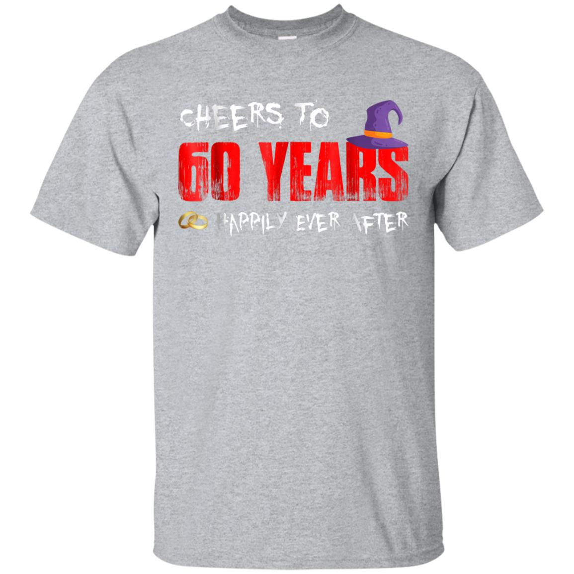 Cheers To 60 Years Happily Ever After Halloween Tee 99promocode