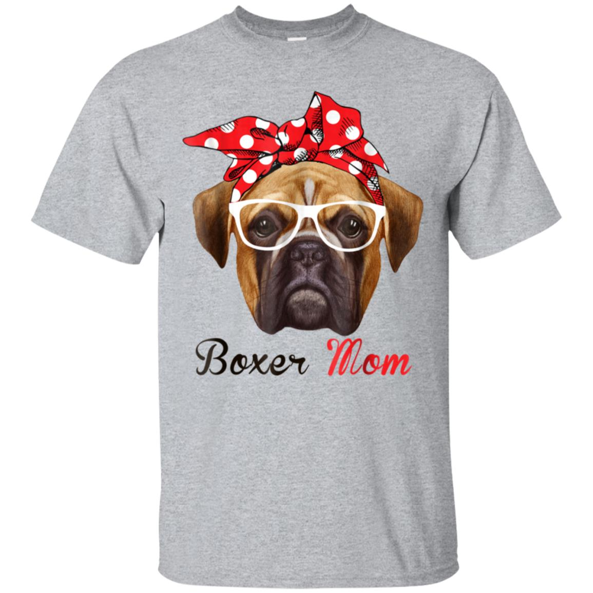 Funny Boxer Mom Shirt for Women Men Boxer Dogs Lovers 99promocode
