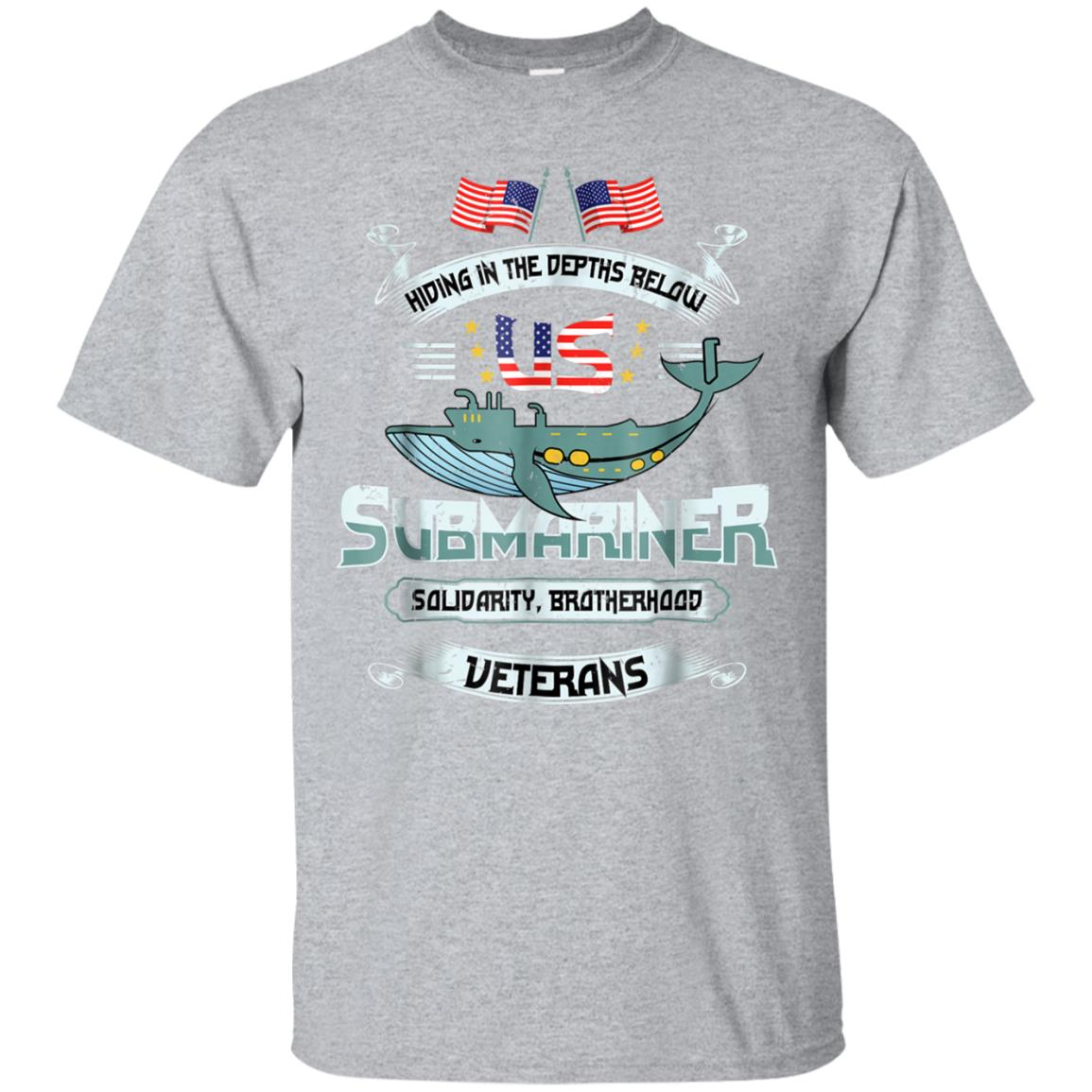 US Navy Veteran Submariner Tshirt - US Submariner Solidarity 99promocode