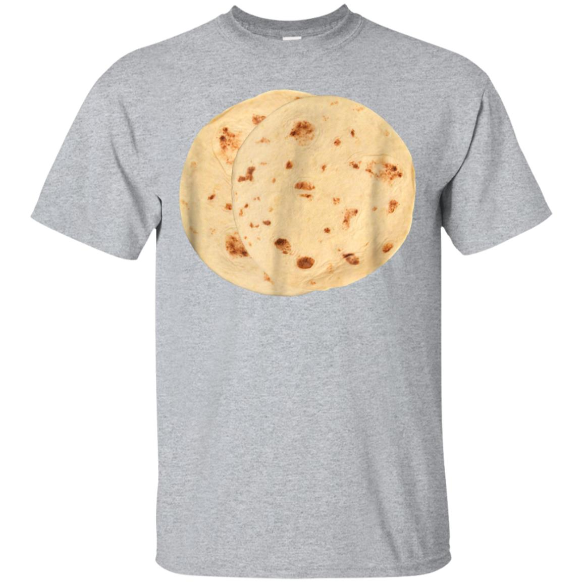 Flour Tortillas Funny T-Shirt Mexican Food Foodie Harina 99promocode