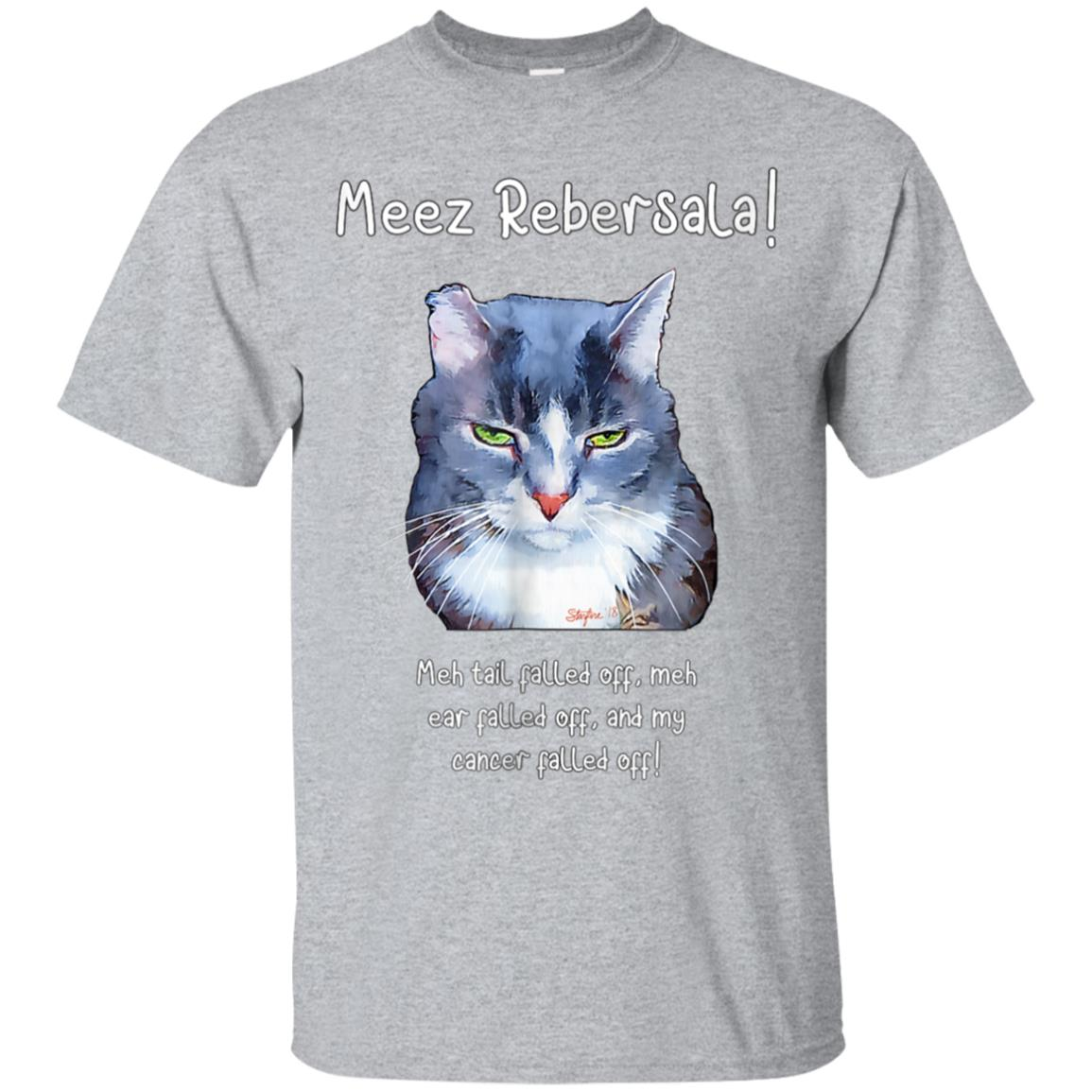 Meez Rebersala! Adorable Cancer-fighting Kitty T-Shirt 99promocode