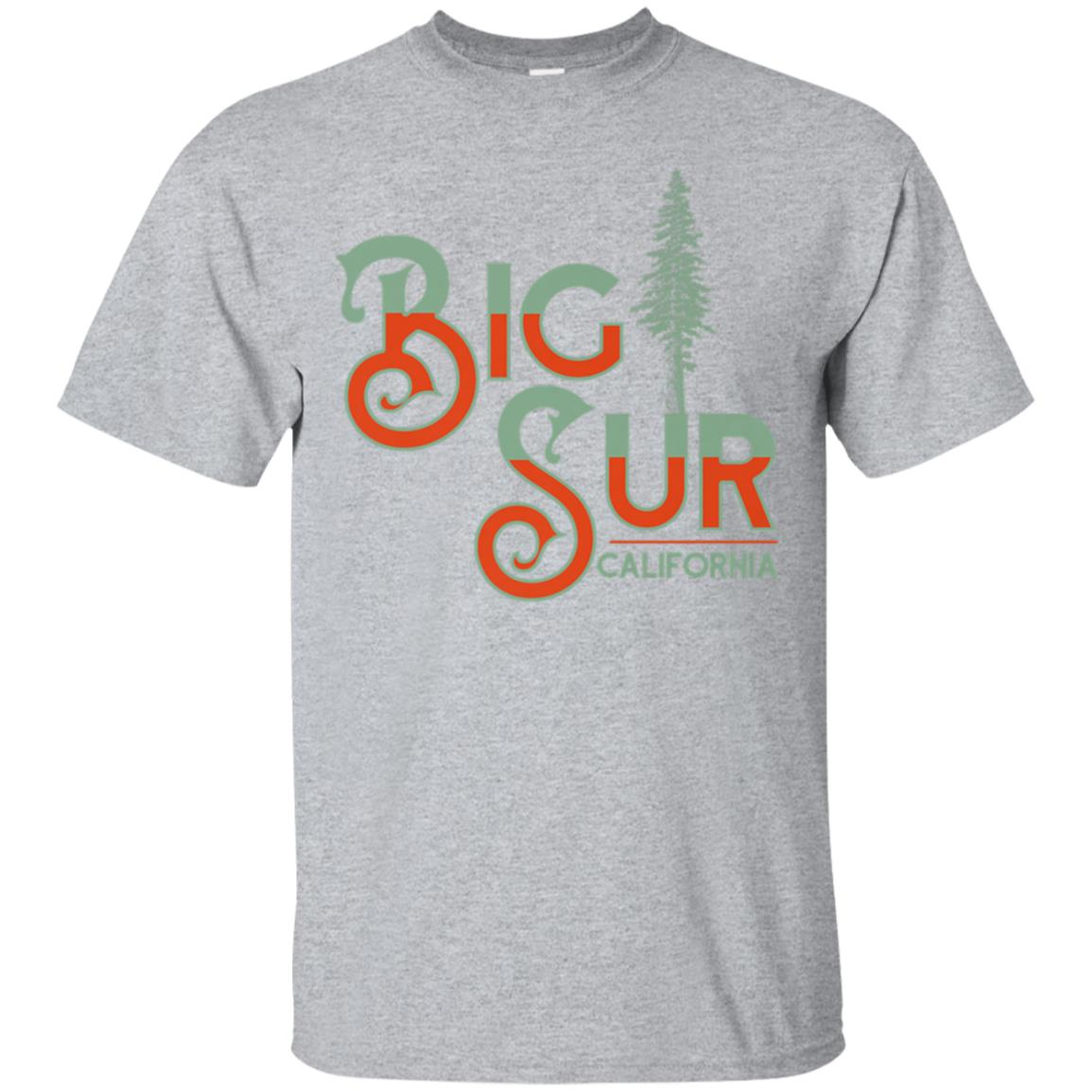 Big Sur - Redwoods Northern California Vintage T 99promocode
