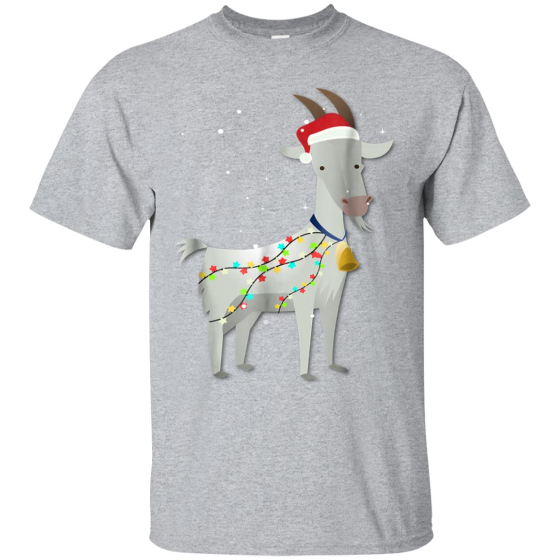 Goat Christmas T Shirt Funny Christmas Gift for Goat Lover 99promocode