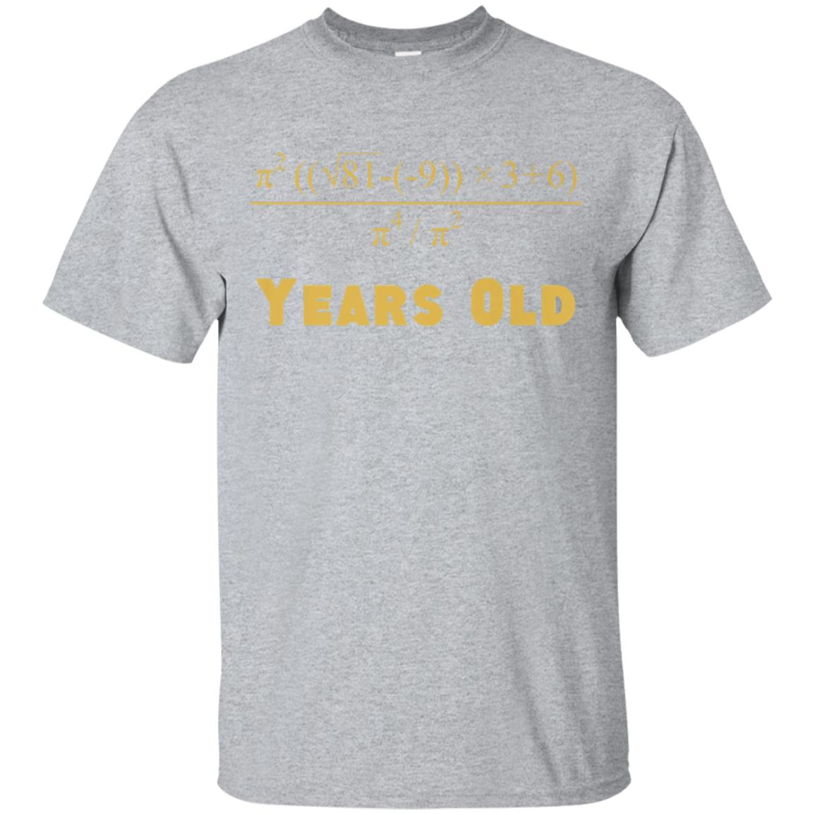eb55d23b Awesome 60 years old algebra equation funny 60th birthday math shirt -  99promocode
