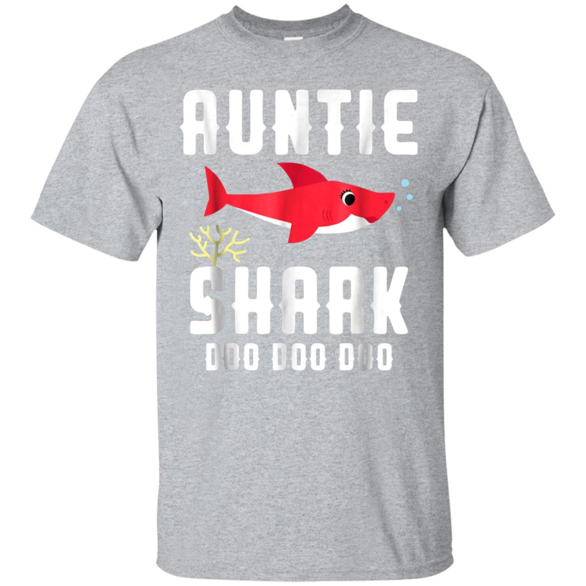 Auntie Shark Shirt for Birthday Halloween Christmas 99promocode