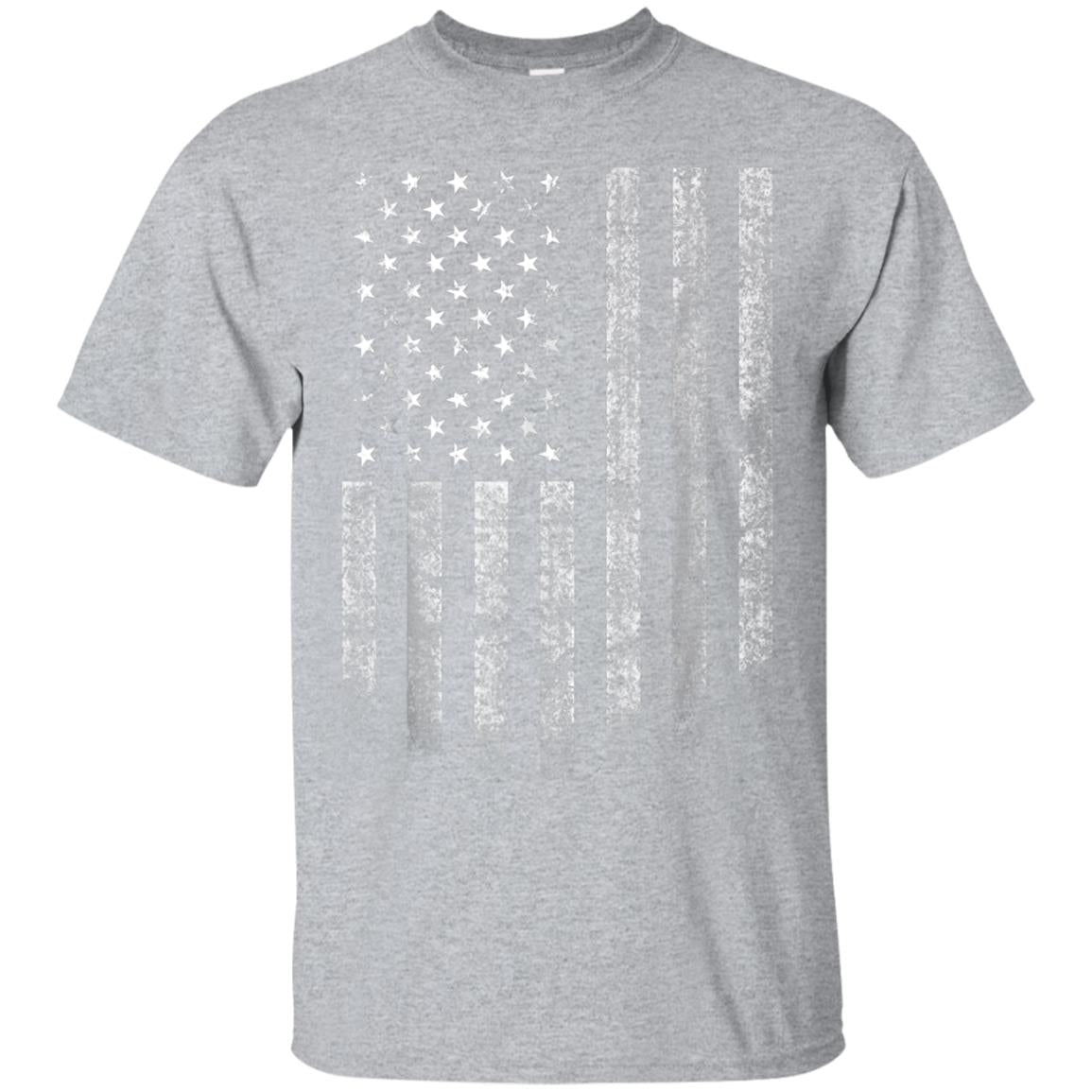 American Flag T-Shirt United States of America USA Patriotic 99promocode