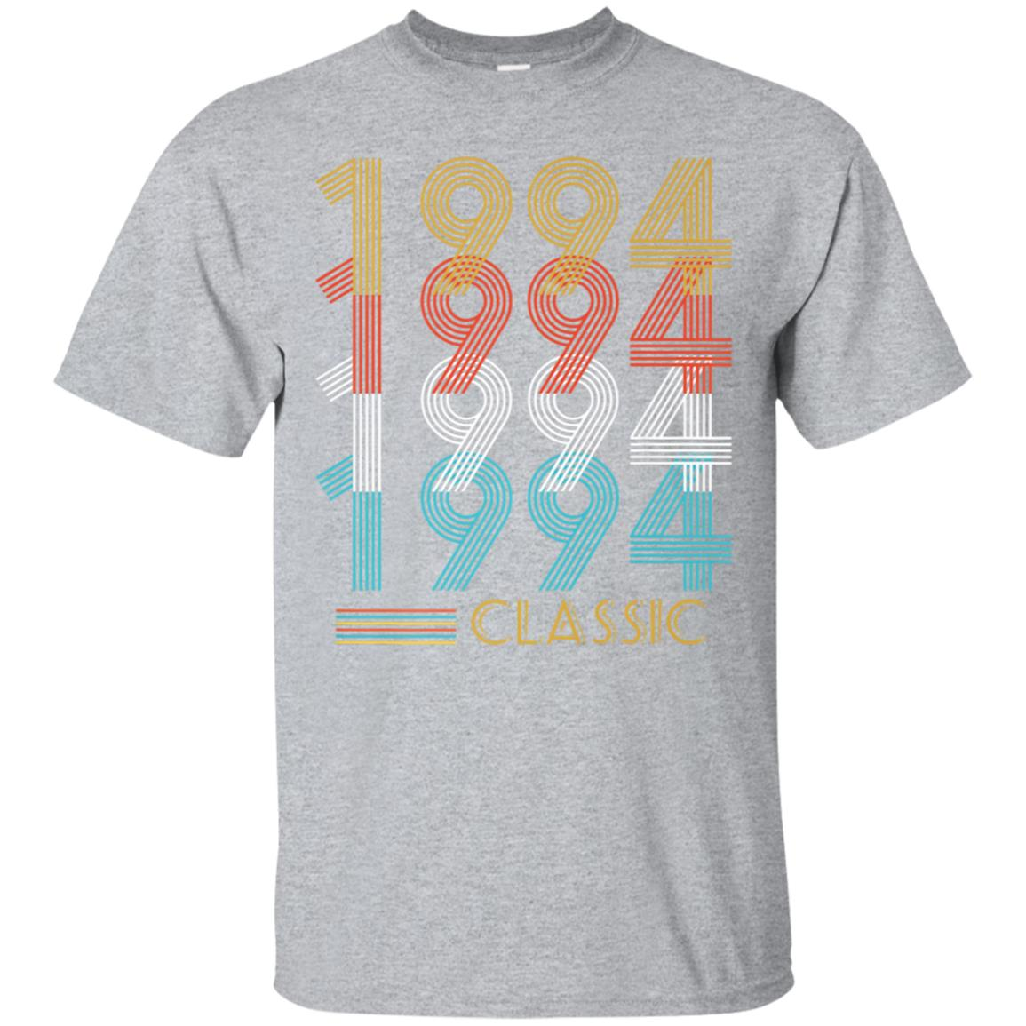 24th Birthday Gift Vintage Classic 1994 T-Shirt Men Women 99promocode