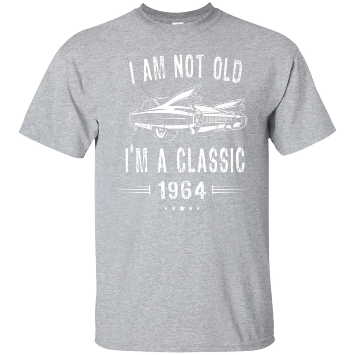 54th Birthday T-Shirt I'm not Old I'm a Classic 1964 Shirt 99promocode