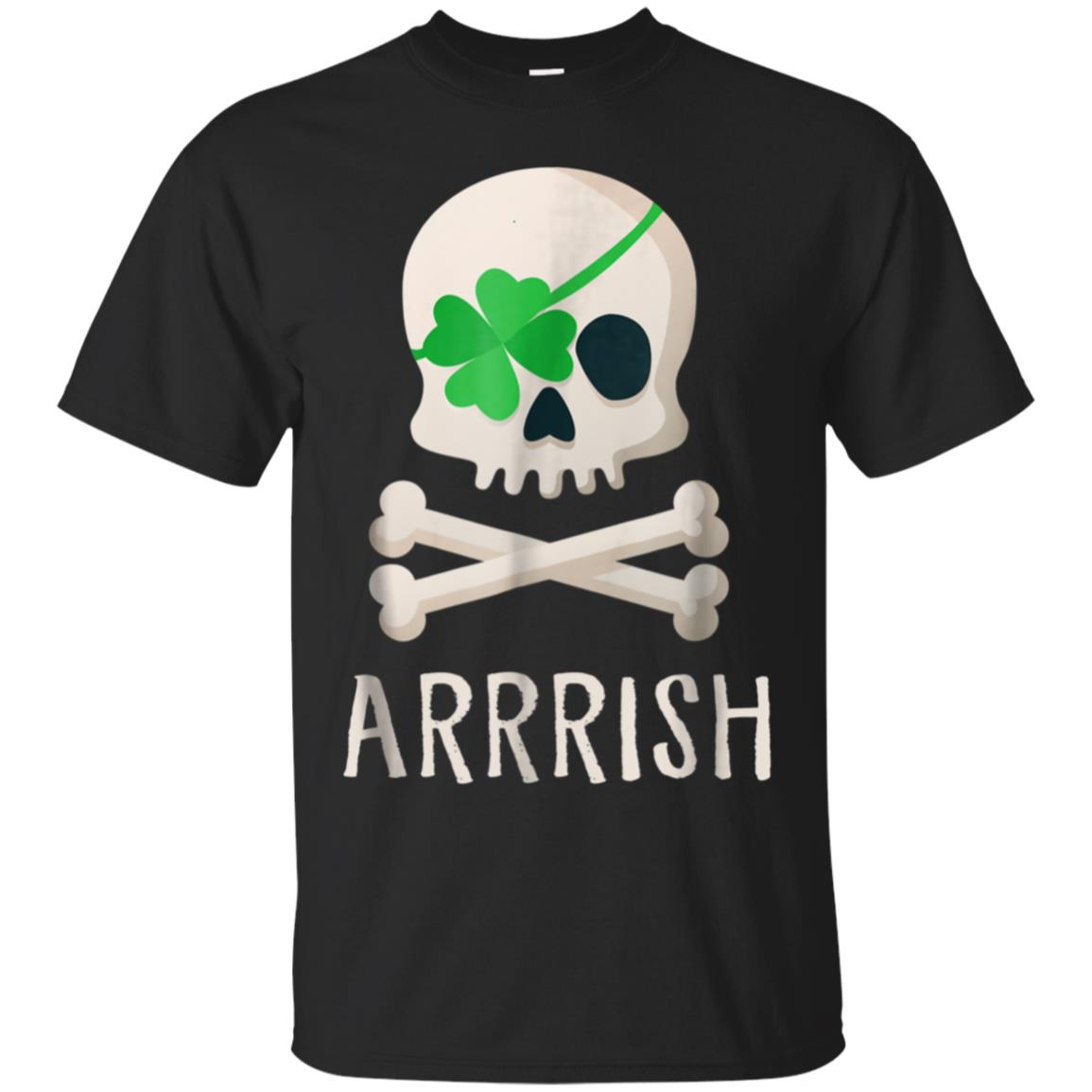 ARRRISH Irish Pirate Shirt  Funny St. Patty's Day T-Shirt 99promocode