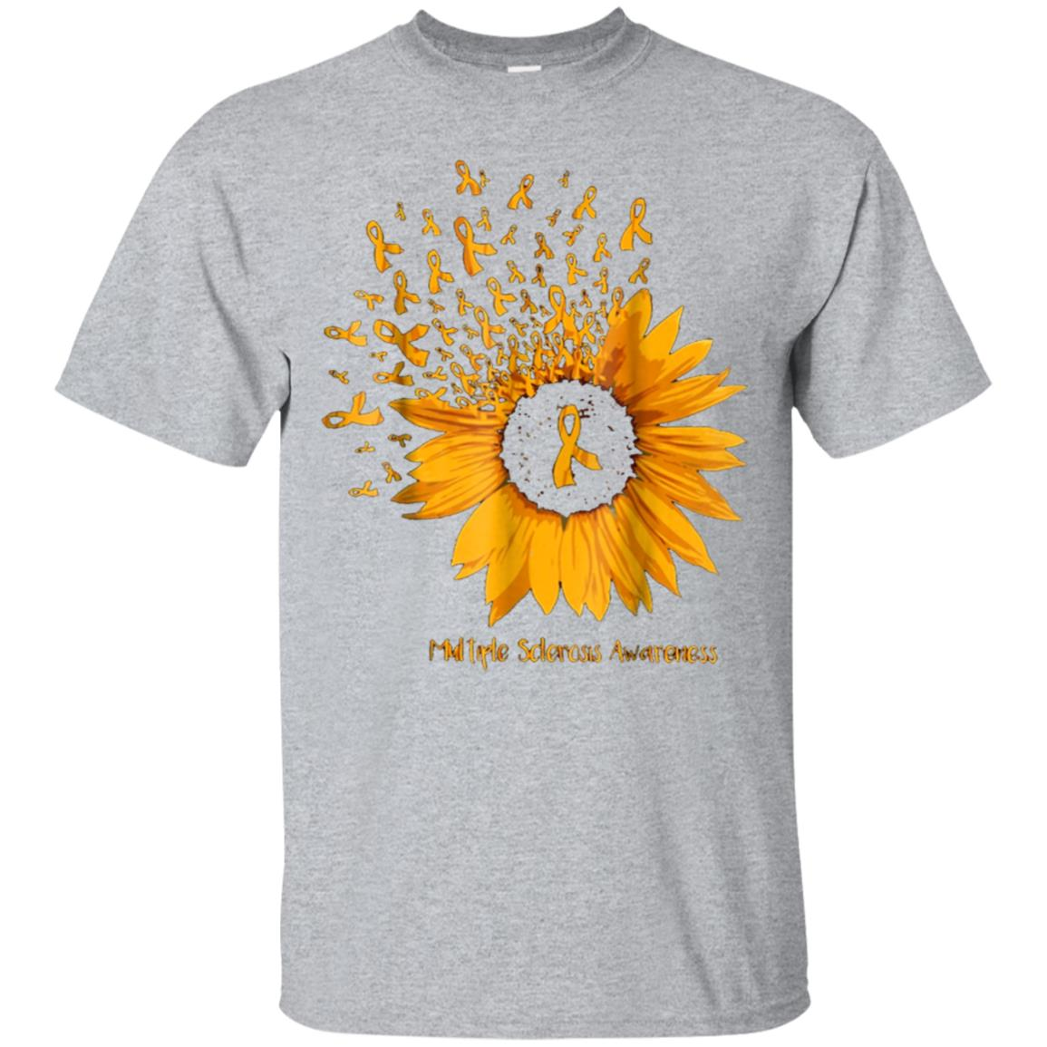 multiple sderosis awareness sunflower T shirt 99promocode