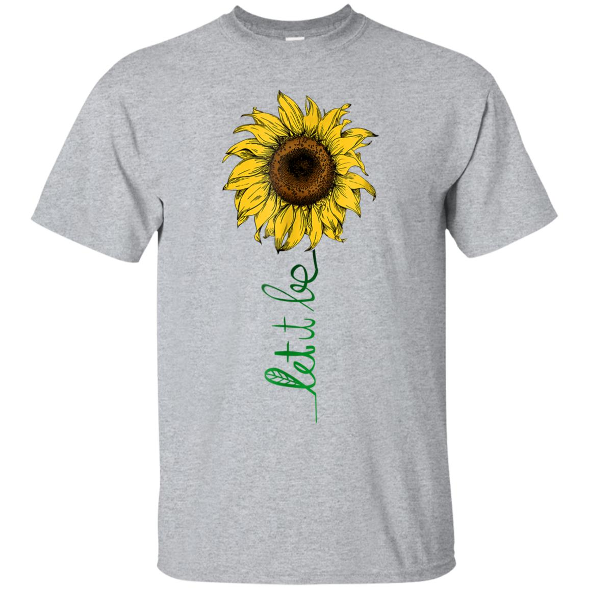 Let It Be Sunflower Hippie Gypsy Spirit Lover Vintage Tee 99promocode