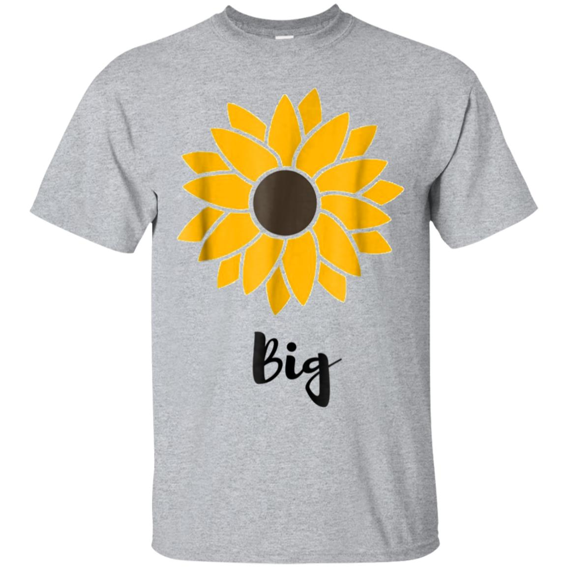 Sun flower Big sister sorority tee 99promocode