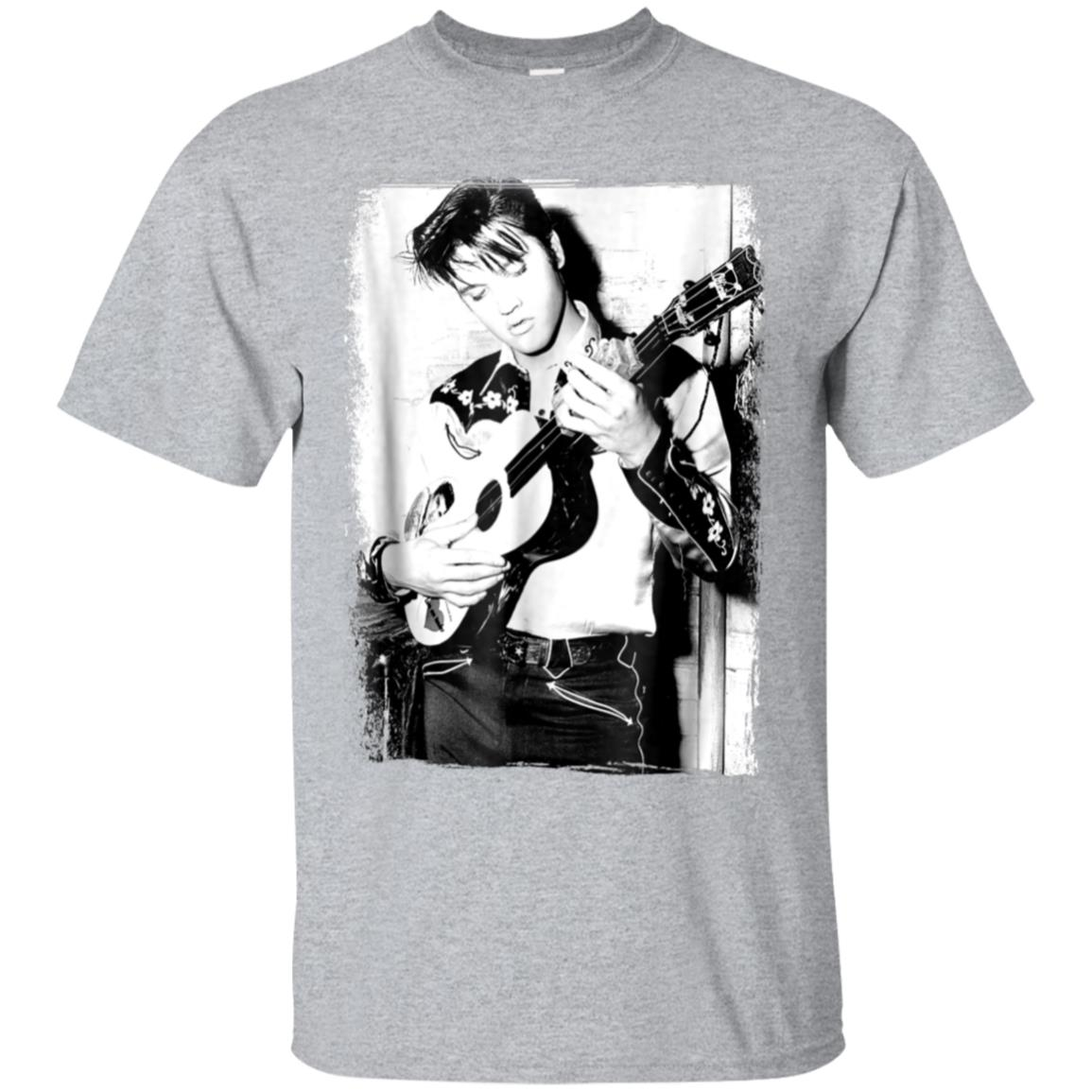 Elvis Presley rocking out and leaning T-shirt 99promocode