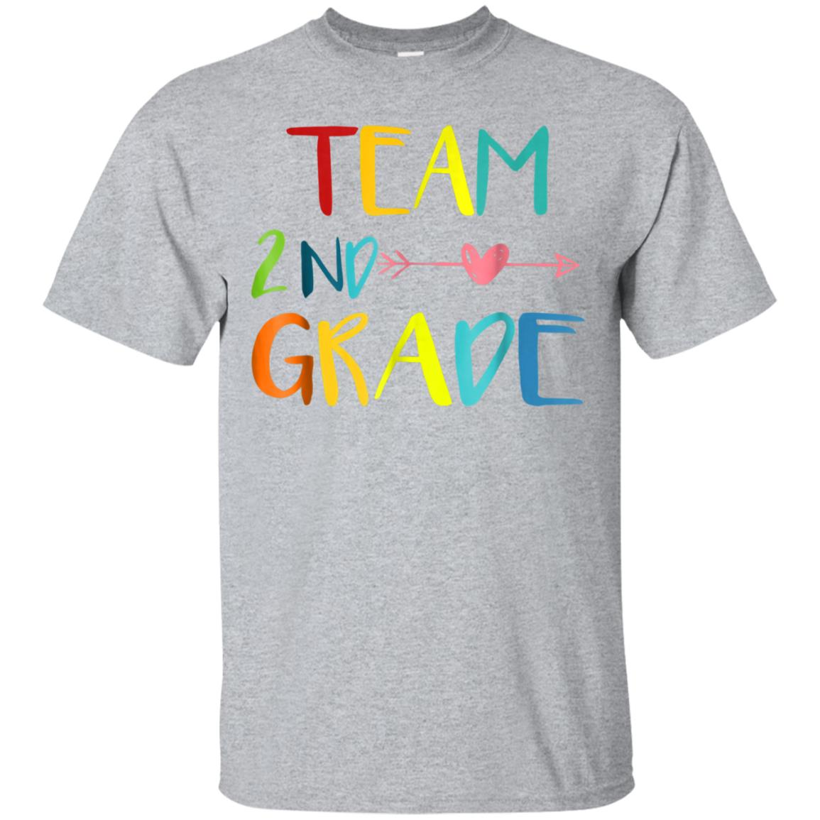Team 2nd Second Grade Teacher T-Shirt 1st Day of School 99promocode