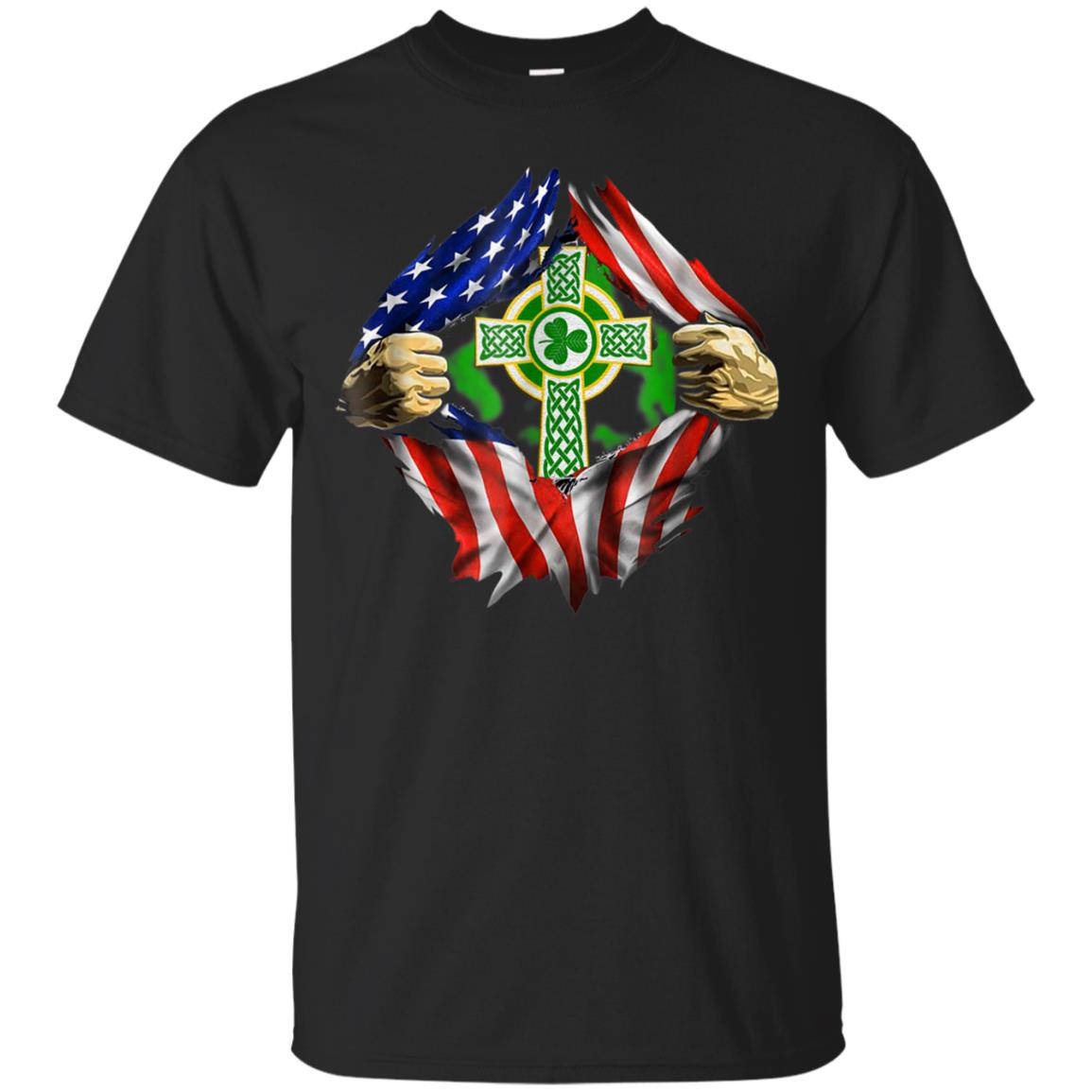 AMERICAN IRISH BLOOD INSIDE ME TSHIRT 99promocode