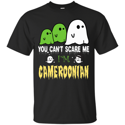 Halloween You can't scare me, i'm CAMEROONIAN