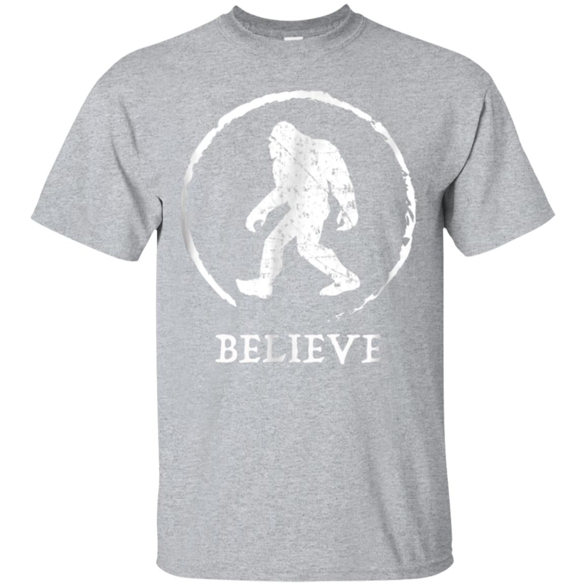Bigfoot Sasquatch Yeti Believe Tshirt 99promocode