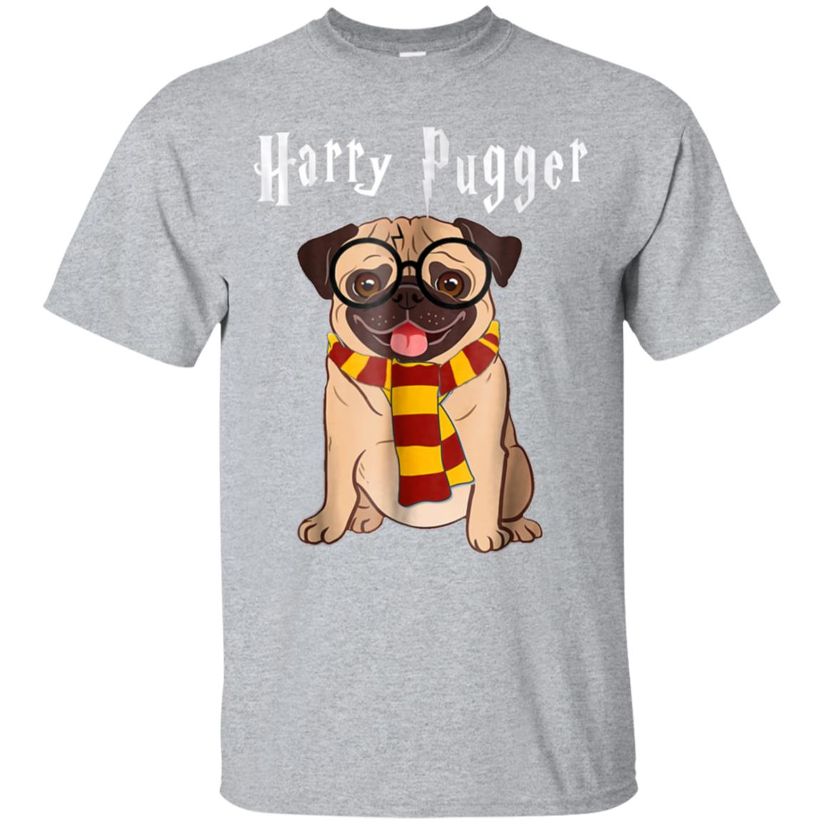 Funny Harry Pugger Magic Wizard Pug T-Shirt Pug Dog Gift 99promocode