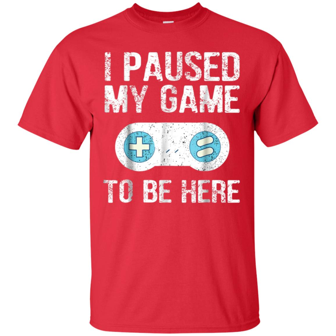 I Paused My Game To Be Here Gamer Gift T-Shirt for Grandson 99promocode