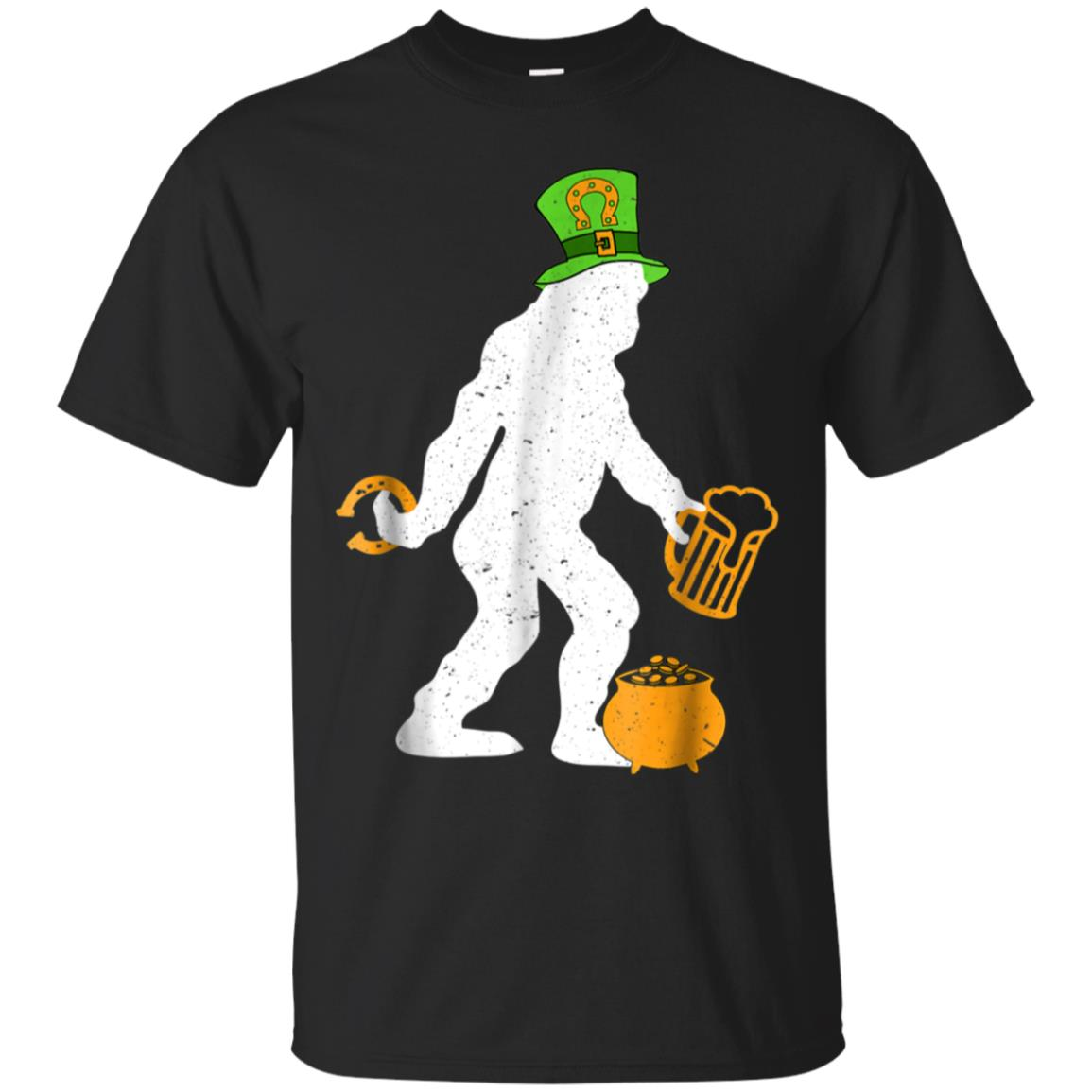 Bigfoot St Patrick's Day Shirt - Funny St Paddy's Day Tee 99promocode