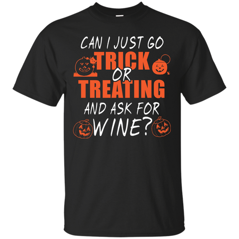 Halloween can i just go trick or treating and ask for wine
