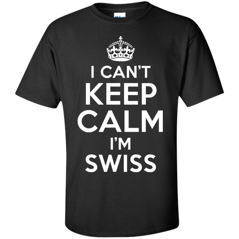I CAN'T KEEP CALM, I'M SWISS
