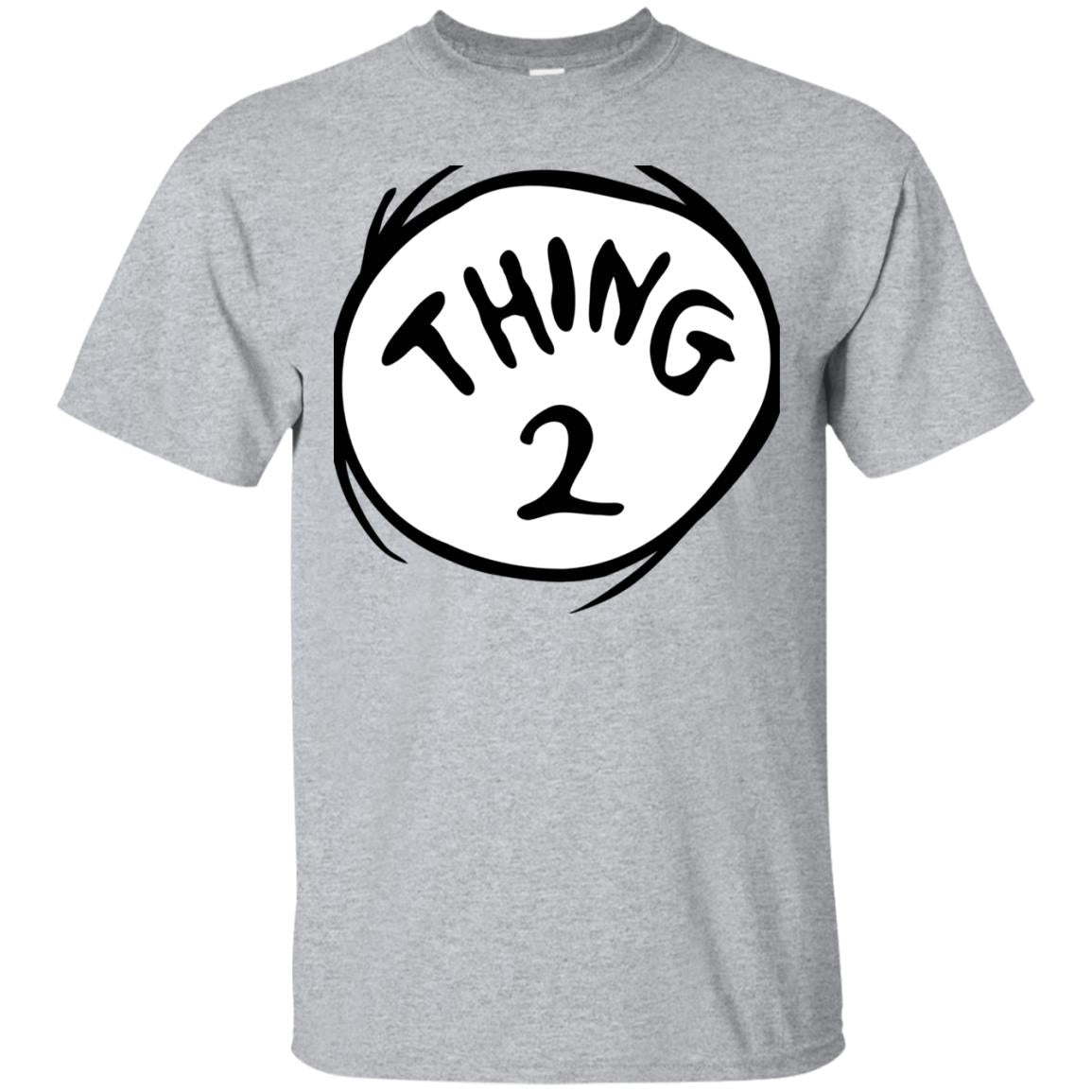Dr. Seuss Thing 2 Emblem T-shirt 99promocode