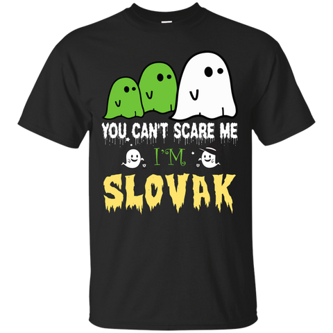 Halloween You can't scare me, i'm SLOVAK