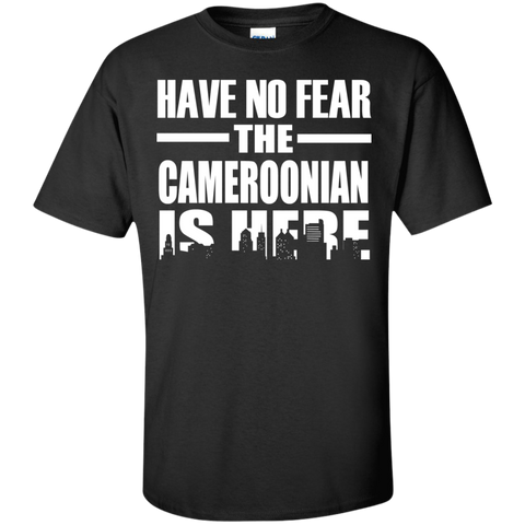 HAVE NO FEAR THE CAMEROONIAN IS HERE