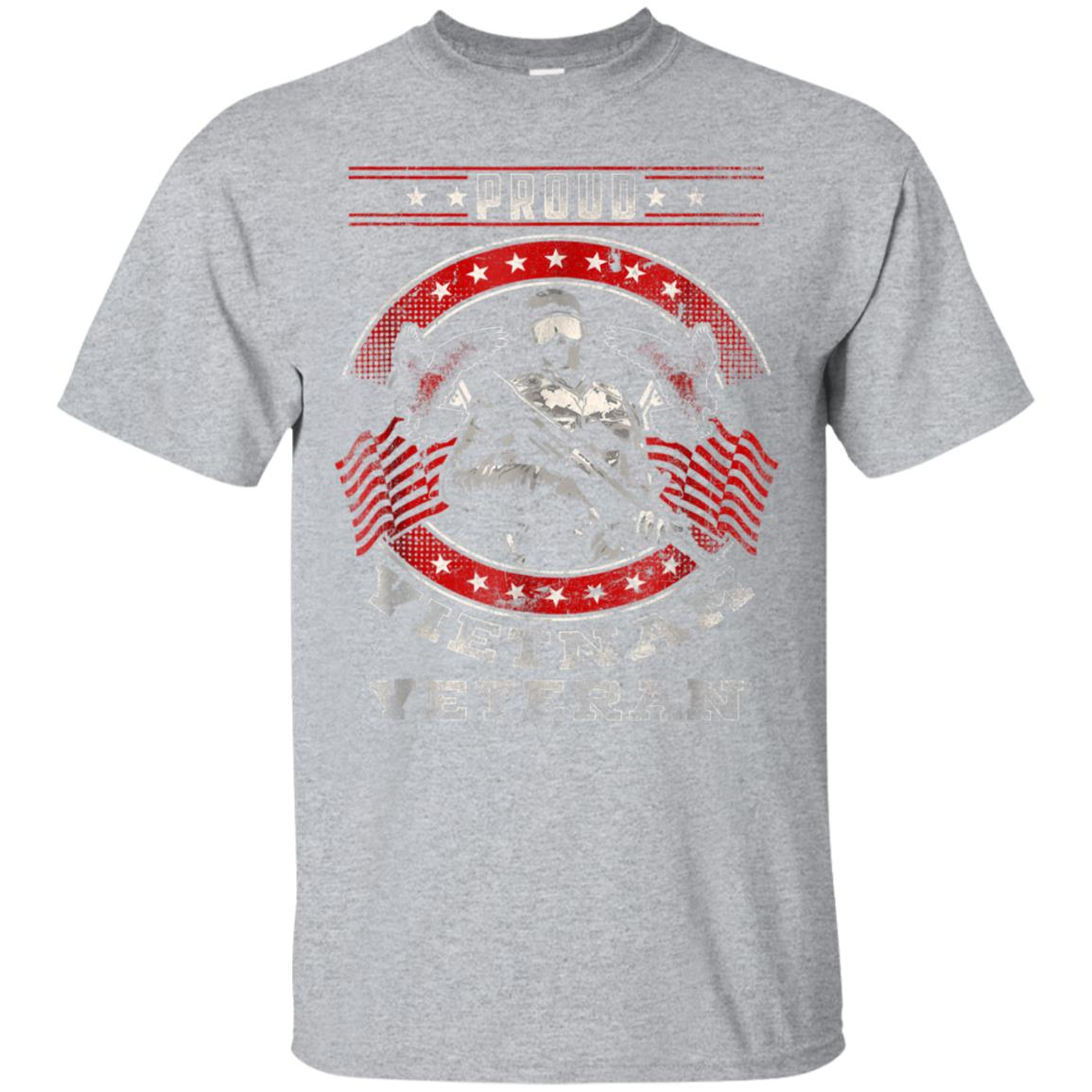 Proud Vietnam Veteran Distressed Tshirt Veteran's Day Gift 99promocode