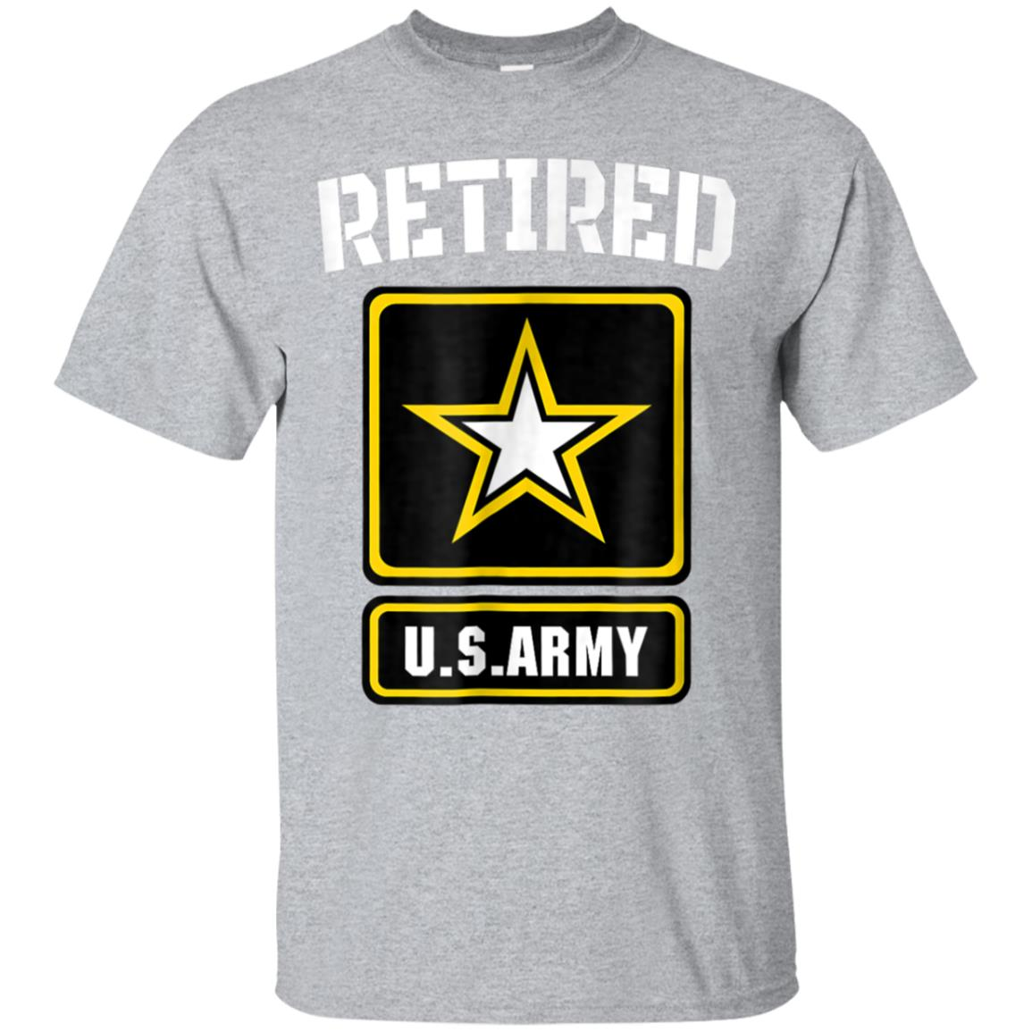 Retired US Army Veteran T-shirt Gift For Veteran Day 99promocode