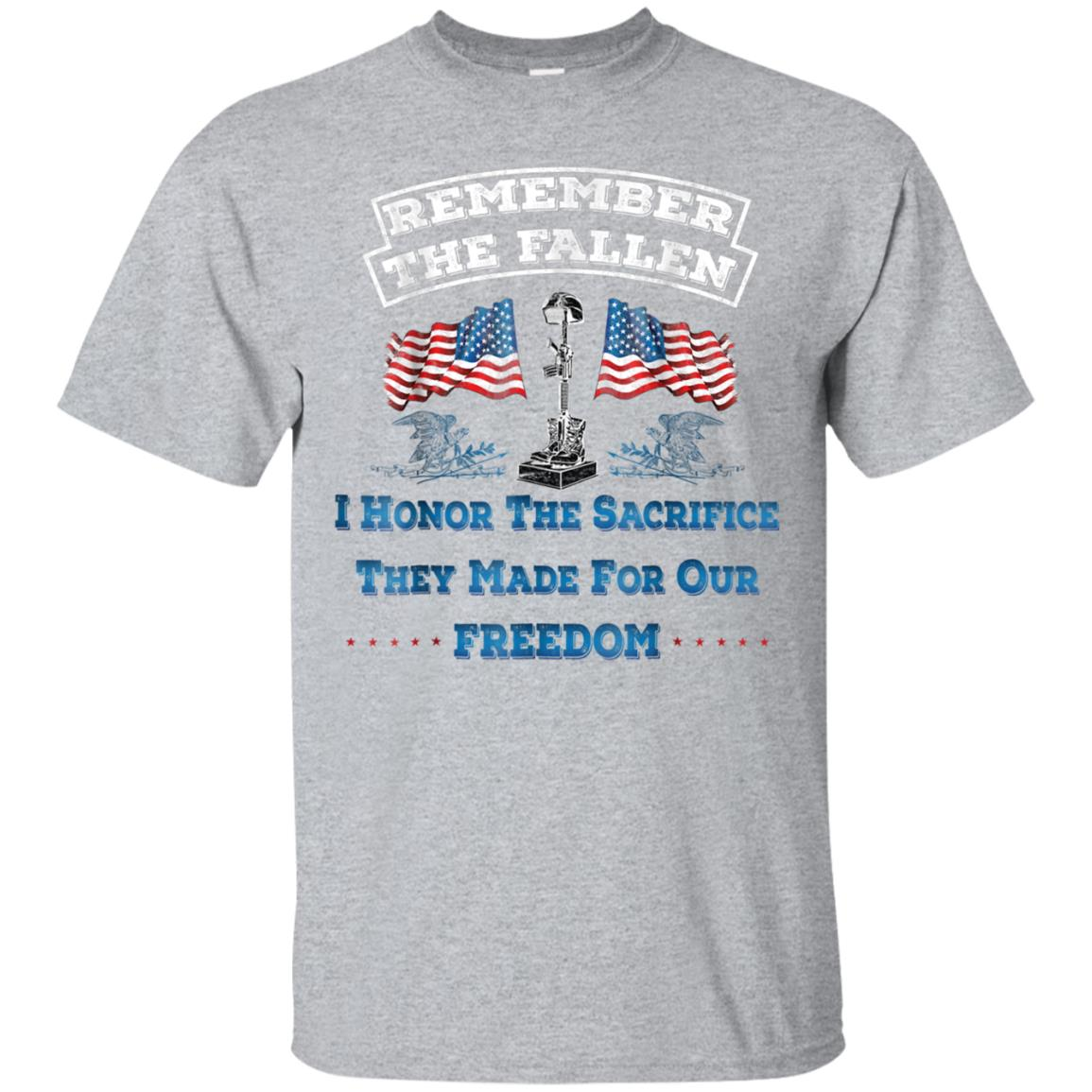 Memorial Day Veterans Day 2018 T-shirt, Remember The Fallen 99promocode